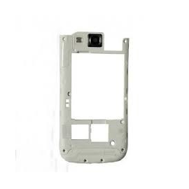 Carcasa Intermedia con Lente de Camara Original Samsung i9300 Galaxy S3 Blanca