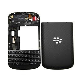Carcasa Completa 4 piezas Original BlackBerry Q10 Negra