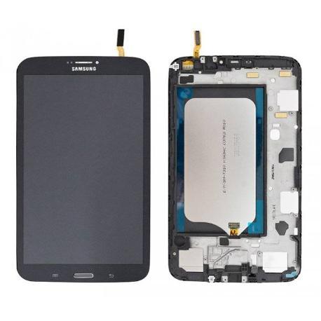 Pantalla Tactil + LCD Display con Marco Original para Samsung Tab 3 8.0 T311 - Negra