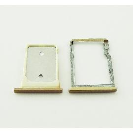 SET DE BANDEJA DE TARJETA SIM Y MICROSD PARA HTC ONE M9+ PLUS - ORO