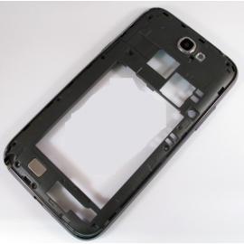 Carcasa Intermedia con marco Samsung N7100 Galaxy Note 2 Gris