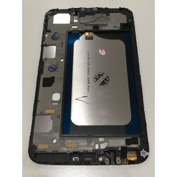 PANTALLA LCD DISPLAY + TACTIL CON MARCO ORIGINAL PARA SAMSUNG SM-T310 GALAXY TAB 3 8.0 WIFI - BLANCA