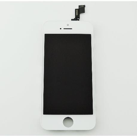 PANTALLA LCD DISPLAY + TACTIL CON PRE - MARCO PARA IPHONE SE - BLANCA