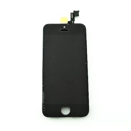 PANTALLA LCD DISPLAY + TACTIL CON PRE - MARCO PARA IPHONE SE - NEGRA