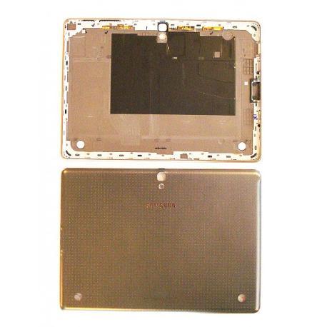 TAPA TRASERA DE BATERIA ORIGINAL PARA TABLET SAMSUNG SAMSUNG GALAXY TAB S 10.5 LTE T805 - GRIS RECUPERADA
