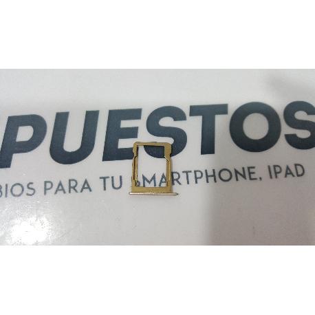 ADAPTADOR TARJETA SD ORIGINAL PARA INNJOO ONE 3G DORADO - RECUPERADO