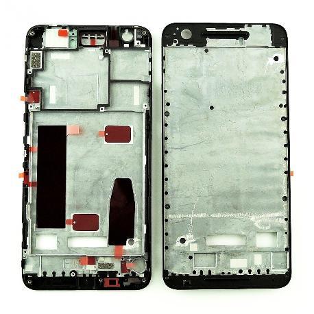 CARCASA FRONTAL DE LCD PARA HUAWEI NEXUS 6P - NEGRA