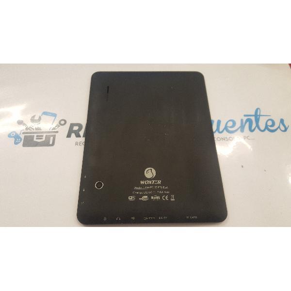 TAPA TRASERA ORIGINAL PARA TABLET WOXTER 85 IP DUAL - RECUPERADA