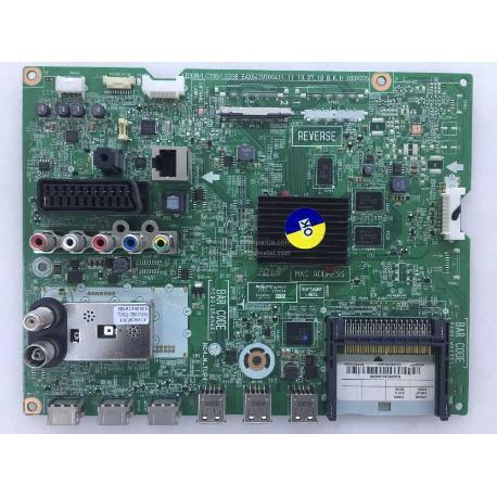 PLACA BASE MAIN BOARD AV LG 42LA660S-ZA, 42LN575S-ZE EAX64797004 (1.1) EBT62596128