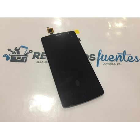 PANTALLA LCD DISPLAY + TACTIL PARA ZTE BLADE L5 PLUS - NEGRA