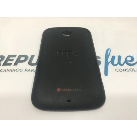 TAPA TRASERA ORIGINAL HTC DESIRE C A320NEGRA RECUPERADA