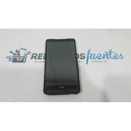PANTALLA TACTIL + LCD DISPLAY CON MARCO HTC TOUCH HD2 T8585