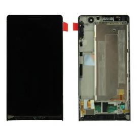 Pantalla completa con marco Huawei Ascend P6 Original de desmontaje