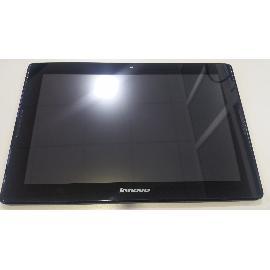 PANTALLA COMPLETA LCD + TACTIL CON MARCO PARA TABLET LENOVO A7600-F NEGRA - RECUPERADA
