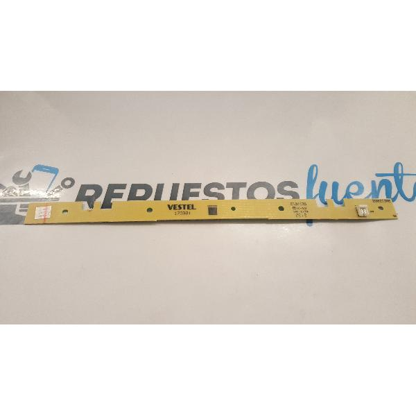 "PLACA INTERFAZ LED 32"" VESTEL 17DB01 / E131175 / 200213R6"