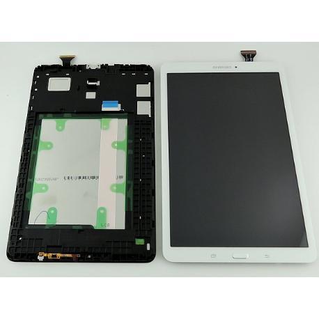 """PANTALLA TACTIL + LCD DISPLAY ORIGINAL PARA SAMSUNG GALAXY TAB E (T560, T561) 9.6"""" - BLANCO"""