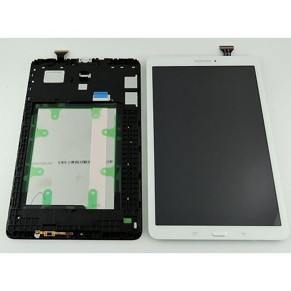 "PANTALLA TACTIL + LCD DISPLAY ORIGINAL PARA SAMSUNG GALAXY TAB E (T560, T561) 9.6"" - BLANCO"