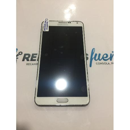 Pantalla LCD Display + Tactil con Marco Original para Samsung Note 3 N9005 Blanca - Recuperada