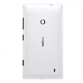 Tapa Trasera de Bateria Original para Nokia Lumia 530, Lumia 530 Dual - Blanca