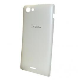 Tapa trasera bateria Original Sony Xperia J st26i Blanca