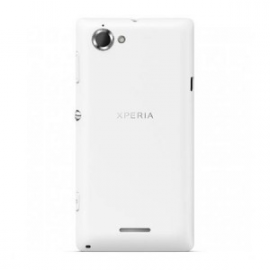 Tapa trasera bateria Original Sony Xperia L C2105 Blanca