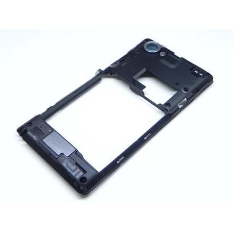 Carcasa intermedia con Lente de Camara Sony Xperia L C2105