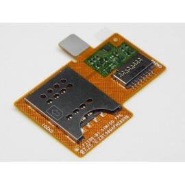 Flex tarjeta Sim y sd Original Sony Xperia Miro St23i