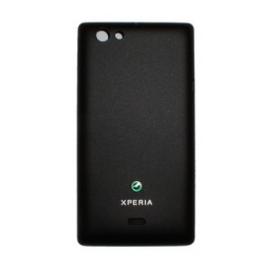 Tapa trasera bateria Original Sony Xperia Miro st23i Negra