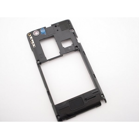 Carcasa intermedia con Lente de Camara Original Sony Xperia Miro st23i