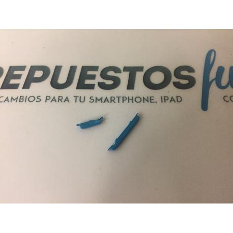 SET DE BOTONES AZULES ORIGINAL PARA WOXTER ZIELO Z-500 - RECUPERADO