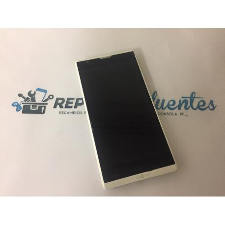 PANTALLA LCD DISPLAY + TACTIL ORIGINAL CON MARCO WOXTER ZIELO Z.-420 PLUS , Z-820 PLUS BLANCA - RECUPERADA