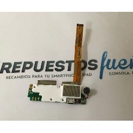 FLEX DE CONECTOR DE CARGA MICRO USB, VIBRADOR Y ALTAVOZ BUZZER PARA WOXTER ZIELO ZX-840, ZIELO ZX-900 - RECUPERADA
