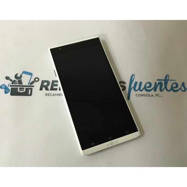 PANTALLA TACTIL + LCD DISPLAY CON MARCO PARA WOXTER ZIELO ZX-840, ZIELO ZX-900 - RECUPERADA / BLANCA