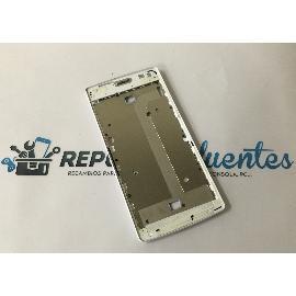 CARCASA FRONTAL DE LCD PARA WOXTER ZIELO Q-27 - RECUPERADO - BLANCA