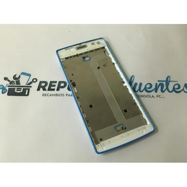 CARCASA FRONTAL DE LCD PARA WOXTER ZIELO Q-27 - RECUPERADO - AZUL