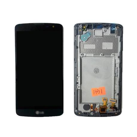 PANTALLA LCD DISPLAY + TACTIL CON MARCO ORIGINAL LG BELLO D331 D335 - RECUPERADA