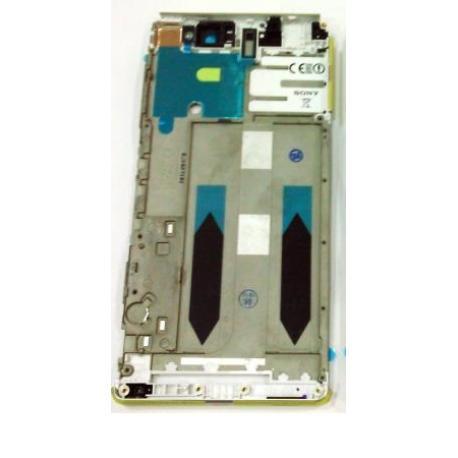 CARCASA FRONTAL DE LCD PARA SONY XPERIA XA ULTRA - BLANCO