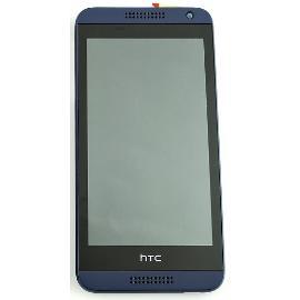 PANTALLA LCD DISPLAY + TACTIL CON MARCO PARA HTC DESIRE 610 - AZUL
