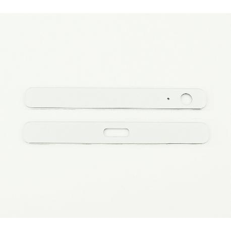EMBELLECEDOR SUPERIOR E INFERIOR ORIGINAL PARA SONY XPERIA X COMPACT F5321 - BLANCO