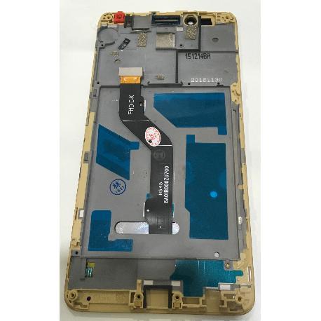 PANTALLA LCD DISPLAY + TACTIL CON MARCO PARA HONOR 5X / X5 / HUAWEI GR5 - ORO