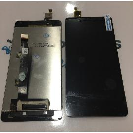 PANTALLA LCD DISPLAY + TACTIL PARA BQ AQUARIS X5 PLUS / REMANUFACTURADA - NEGRA