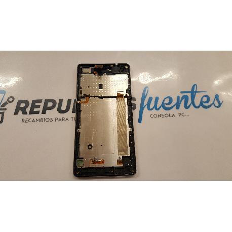 PANTALLA LCD DISPLAY + TACTIL PARA WIKO FEVER NEGRA - RECUPERADA