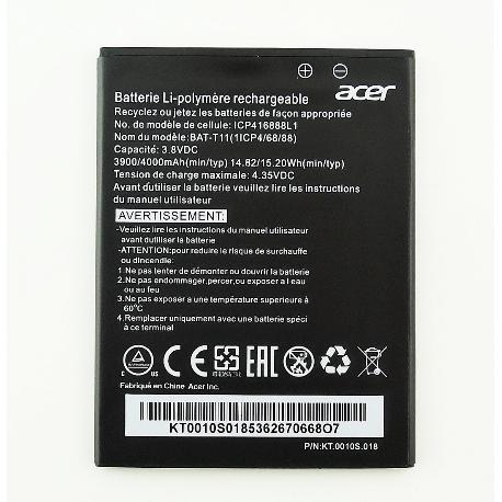 BATERIA BAT-T11(1ICP4/68/88) ORIGINAL PARA ACER LIQUID Z630, Z630S DE 3900 MAH
