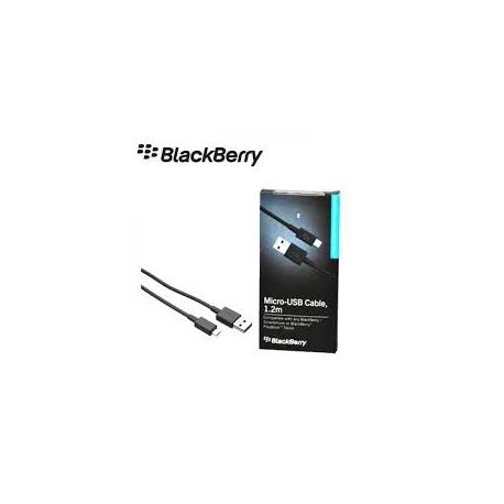 Cable de datos Usb a micro usb Original Blackberry ACC-39504-201 1.2m
