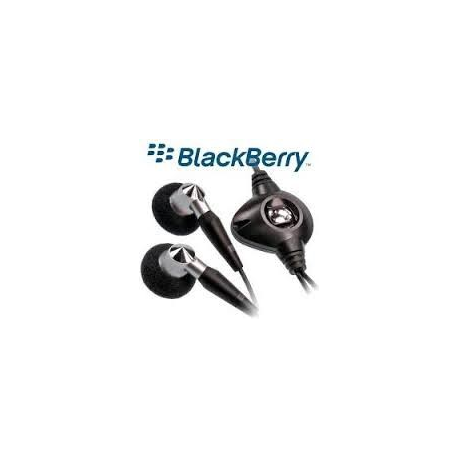 Auriculares Manos Libres Original Blackberry HDW-14322-001 Stereo 3.5mm