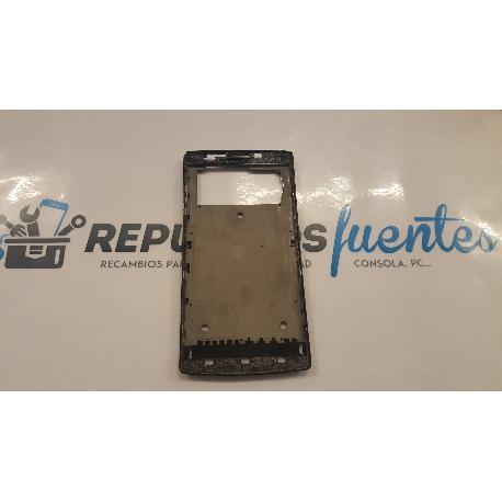 CARCASA MARCO FRONTAL ORIGINAL PARA ELEPHONE G5 - RECUPERADA