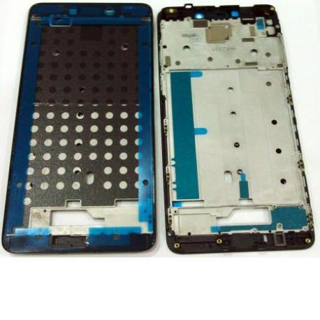 CARCASA FRONTAL LCD PARA XIAOMI REDMI NOTE 4 - NEGRA