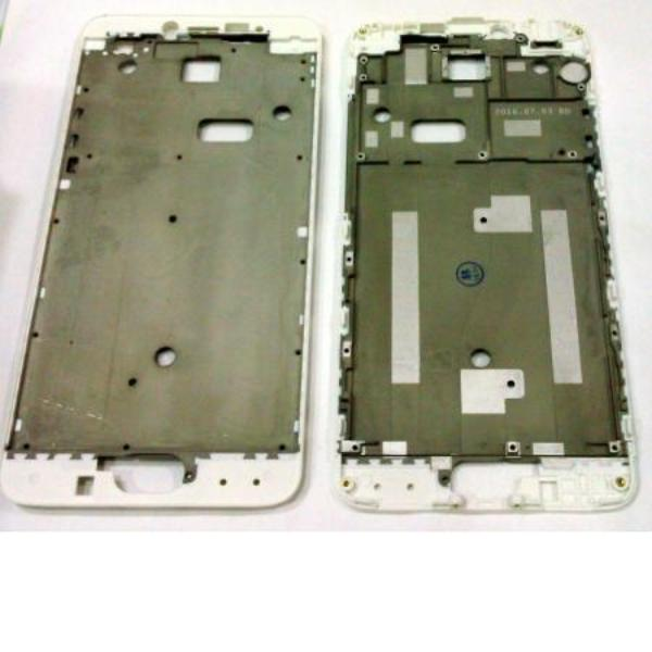 CARCASA FRONTAL DE LCD PARA MEIZU M3 NOTE - BLANCO