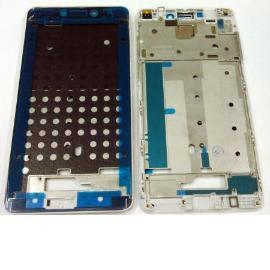 CARCASA FRONTAL LCD PARA XIAOMI REDMI NOTE 4 - BLANCA