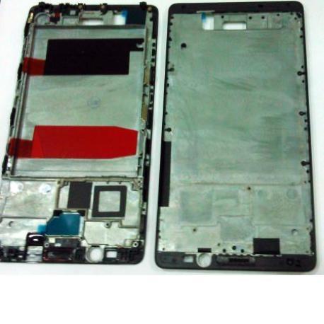 CARCASA FRONTAL DE LCD PARA HUAWEI MATE 8 - NEGRA